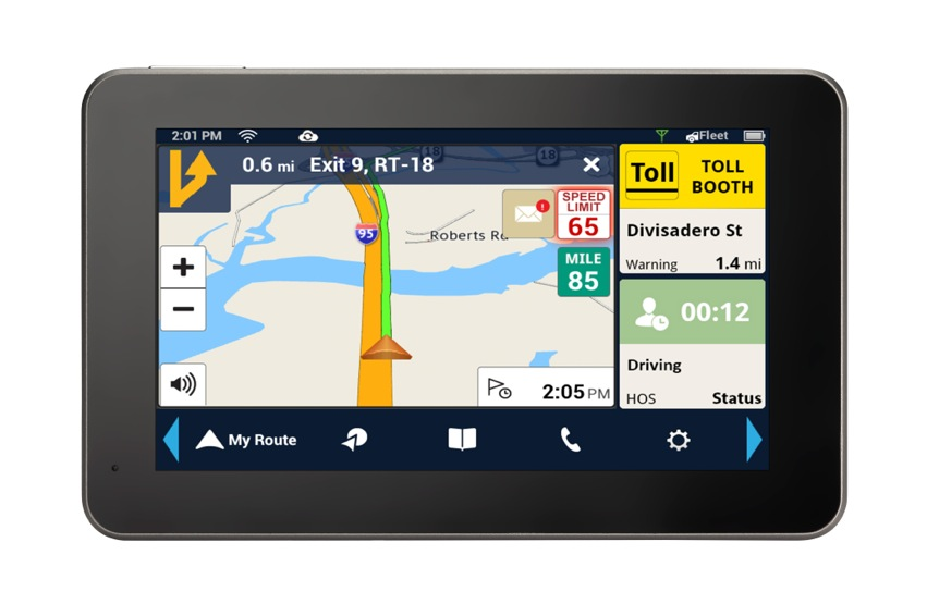 Android Based Navigator Integrates with Fleets
