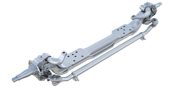 Meritor Adds Deep Drop-Axle Option to MFS Front Axle Series