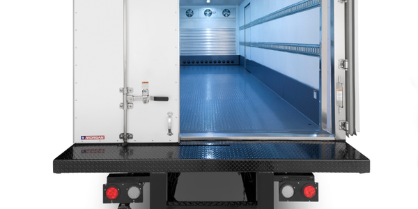 Morgan Offers Cold-Plate Trailer and Truck-Body System