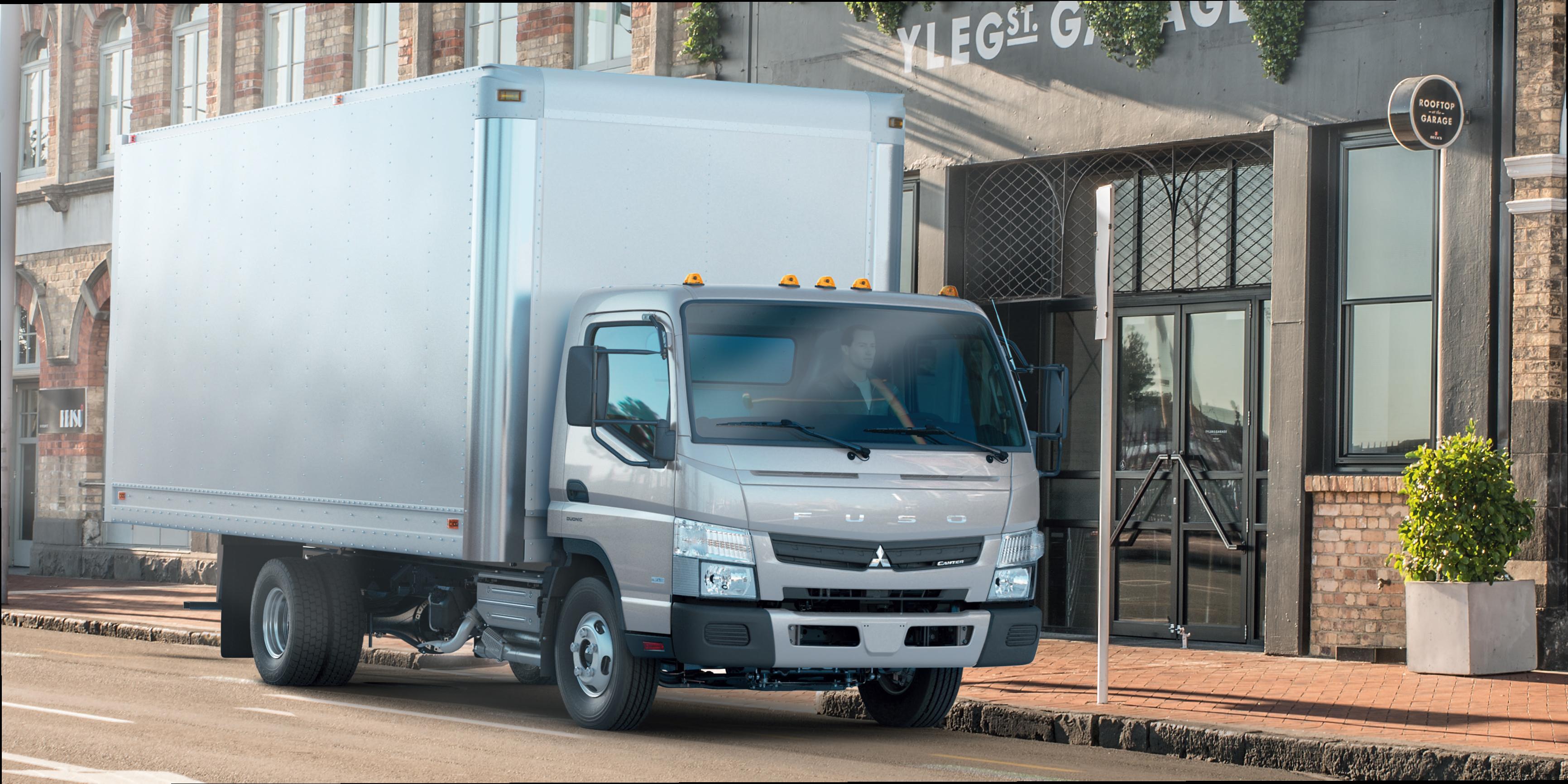 Mitsubishi Fuso Introduces Higher-GVWR Class 3 Truck