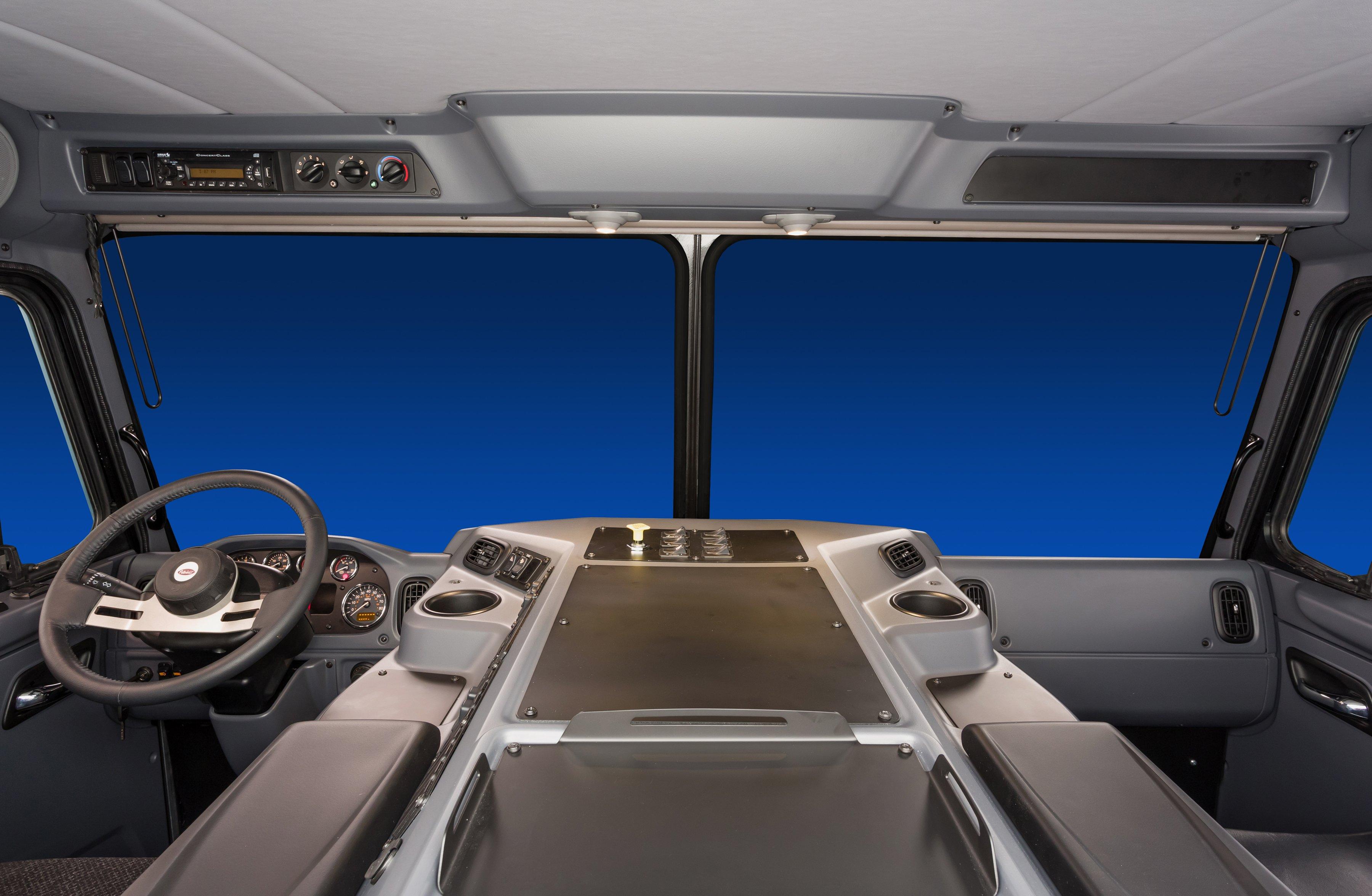 Peterbilt Unveils New Interior for Model 320