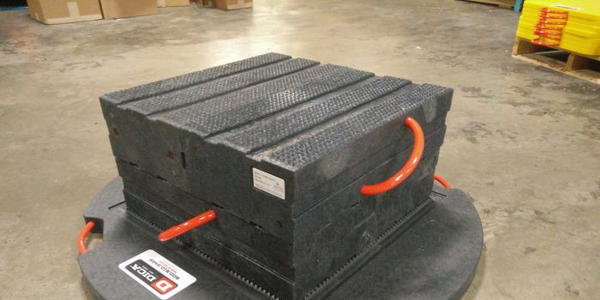 ProStack Cribbing Helps Vehicles Stay Balanced on Uneven Roads