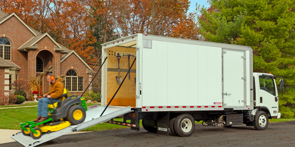 Truck Body Aimed at Landscaping Fleets