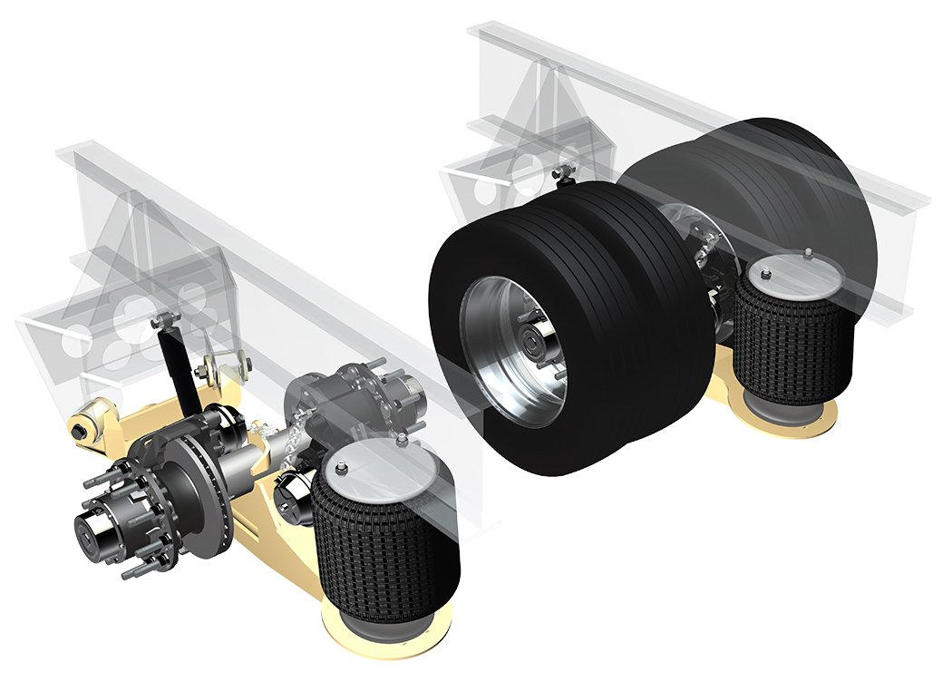 Ridewell Expands Air Ride Suspension Line With RAR-251
