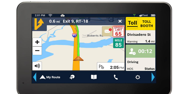 Magellan Releases Android Navigation Unit for Truckers