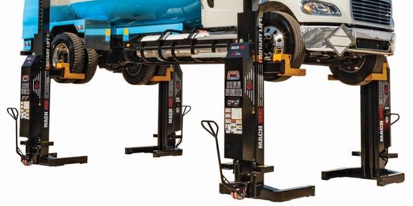 Rotary Lift Expands Mach Flex Mobile Column Lineup