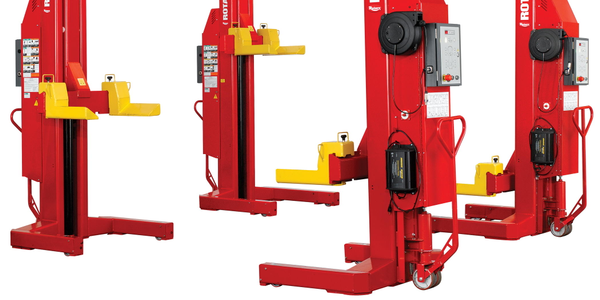 Rotary Lift Introduces Mobile Column Lift Rental Program