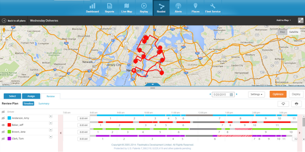 Routist Calculates Routes for Drivers in the Field