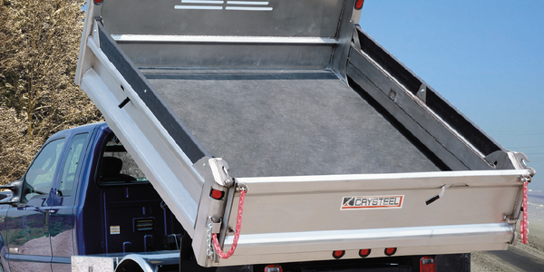 Dump Body Designed for Corrosion Protection