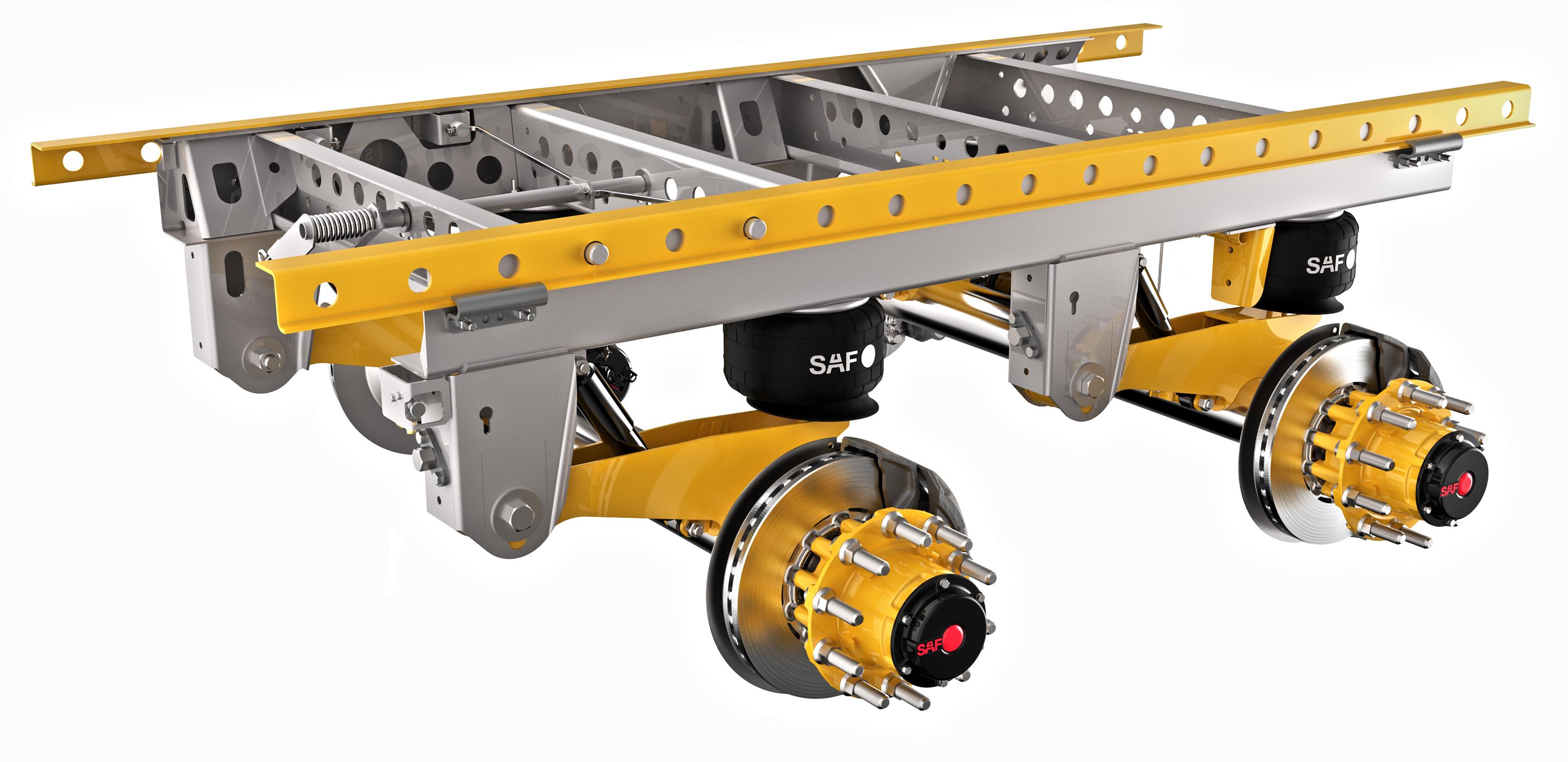 Tandem Slider Suspension Lightweight, More Durable, SAF-Holland Says