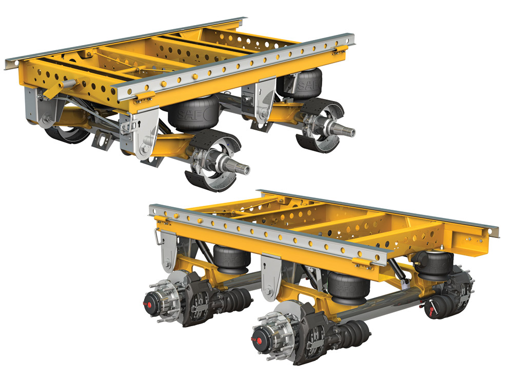 SAF Holland Expands CBX Series Suspension Axle Systems