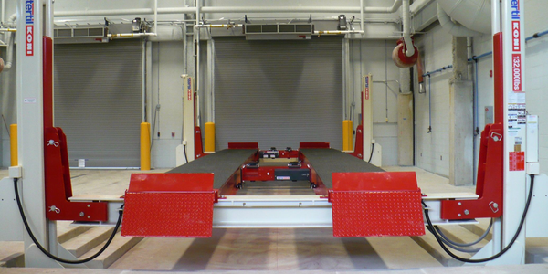 Stertil-Koni Lift Boasts 132,000-Pound Capacity