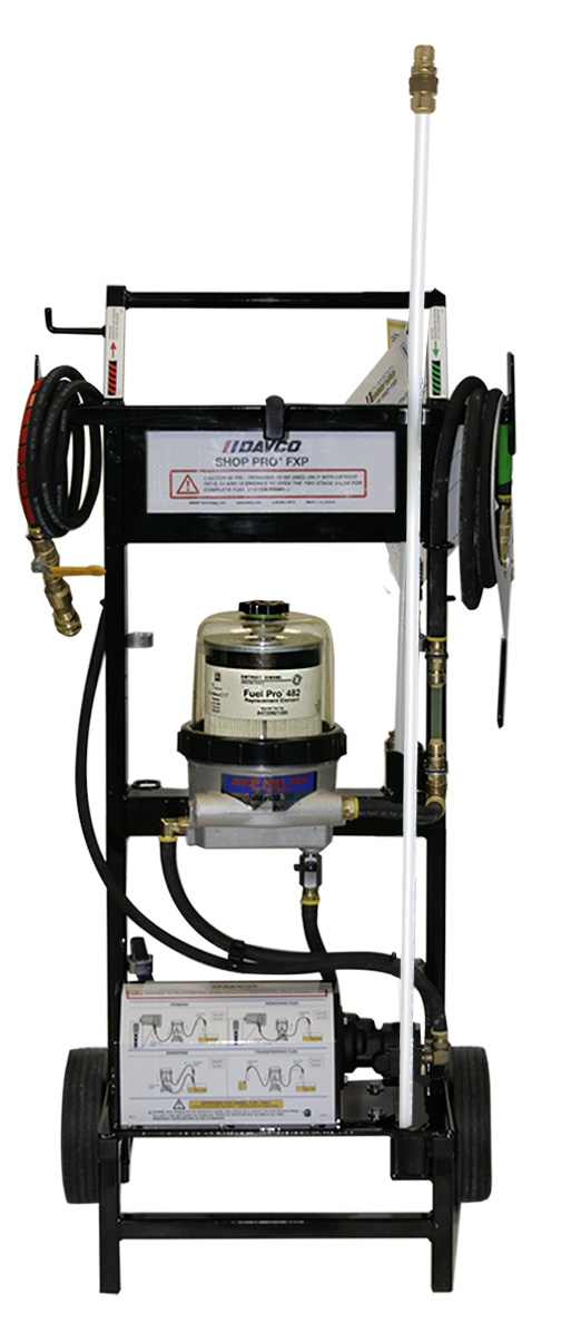 Davco Offers ShopPro FXP 95 Fuel Processor