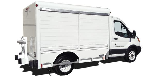 Hackney Truck Body Designed for Ford Transit
