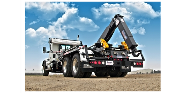 Slider50 Hooklift Designed for Speed and Weight