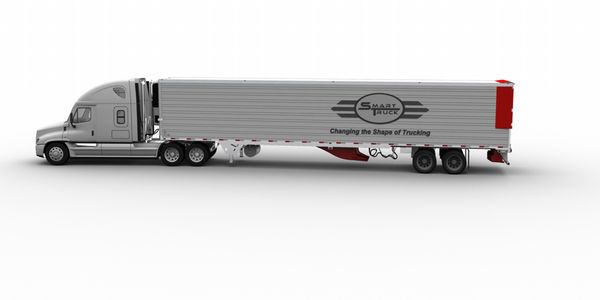 The company says its new side fairing, when combined with the SmartTruck UnderTray System,...