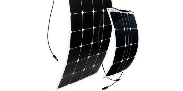 Solar Flex Panels Provide AC Power