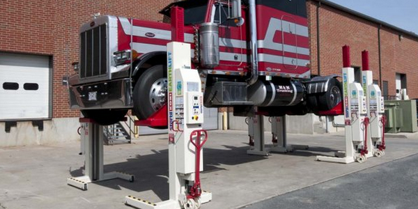 Touch Screen Console Controls Mobile Column Lifts