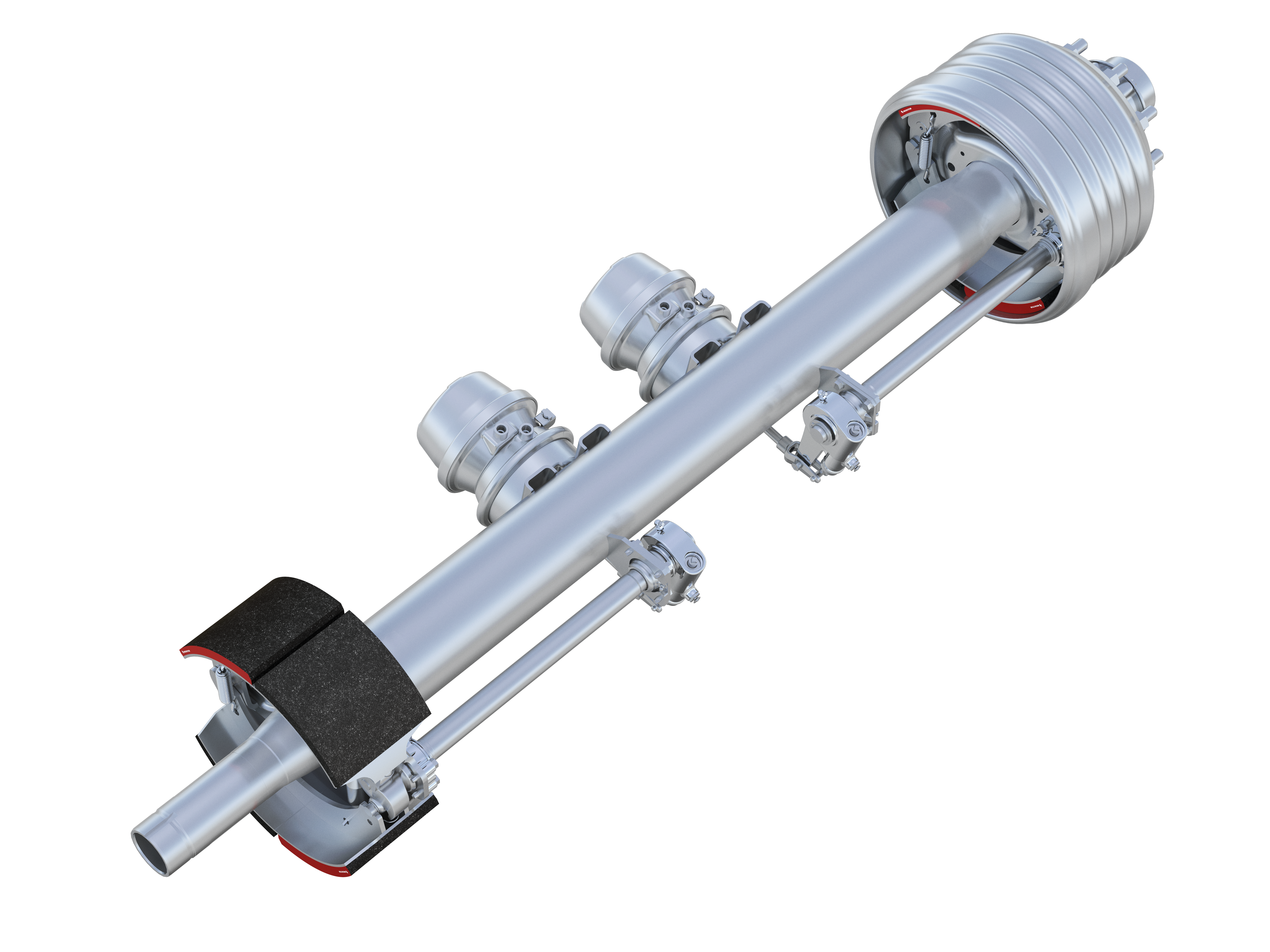 Larger, Lighter But Stronger MTec6 Trailer Axle Coming from Meritor