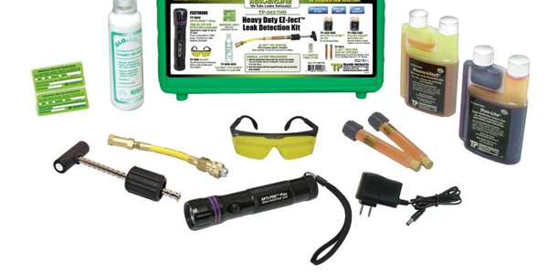 True UV Light Kit Detects Refrigerant and Fluid Leaks