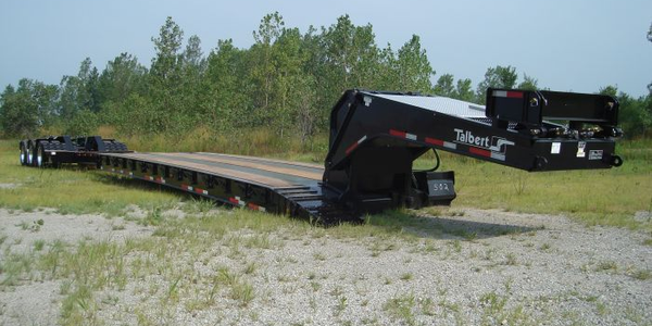 Talbert Introduces 55-Ton Extendable Heavy Haul Trailer