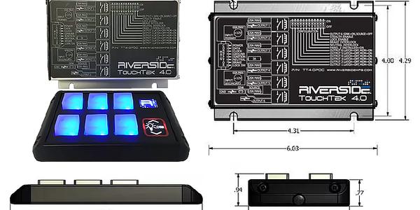 TouchTek Gen 4 Provides Control Over Vehicle Electrical Loads