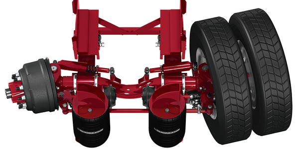 Hendrickson Introduces Toughlift for Non-Steer and Steerable Lift Axle Applications