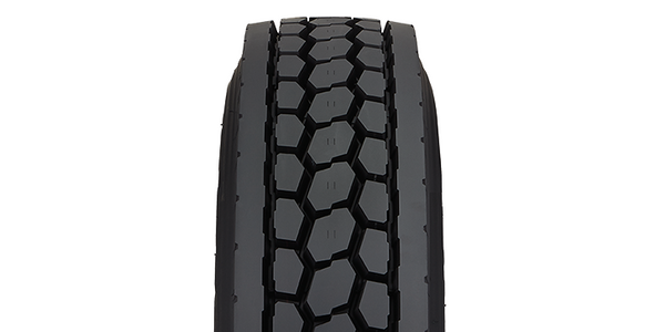 Drive Tire Features Four Groove Design