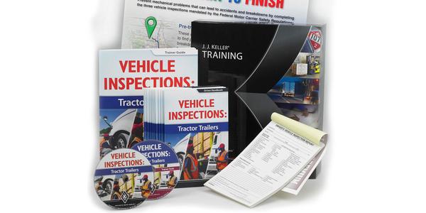 J.J. Keller Offers Inspection Training Program for Drivers