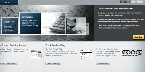 Mitchell 1 Releases TruckSeries Suite for Technicians