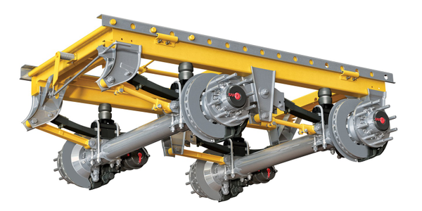 SAF-Holland's ULX40 Trailer Suspension Uses Composite Springs