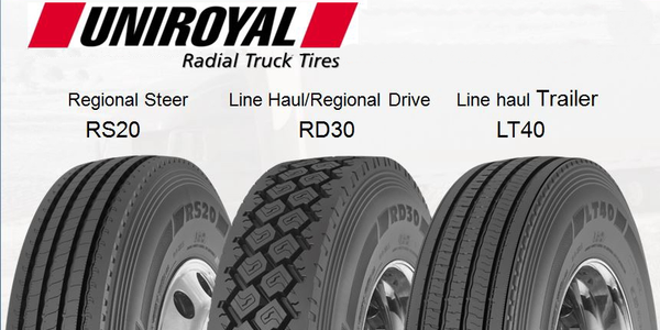Michelin Shows Uniroyal-Branded Truck Tires in Canada
