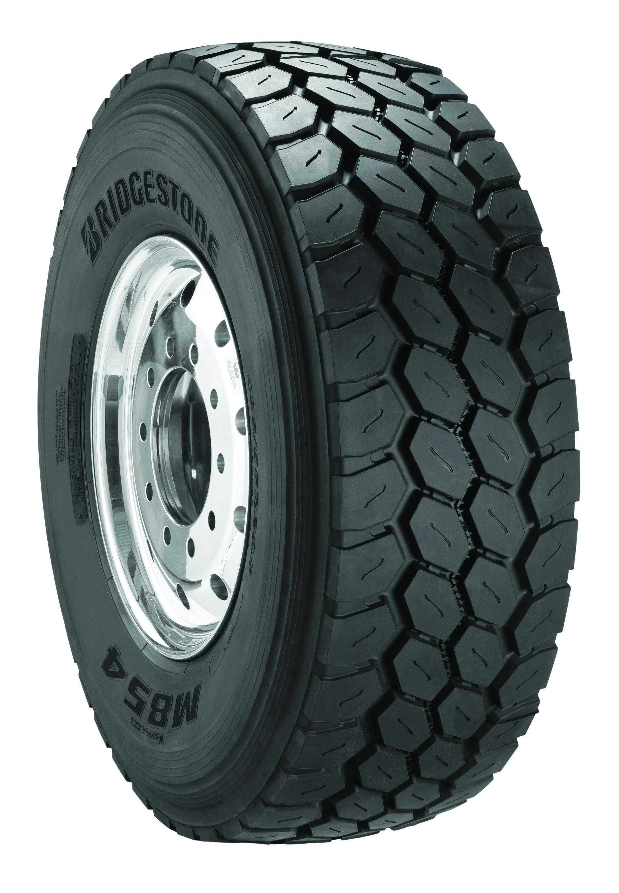 Bridgestone Introduces New M854 Wide Base All-Position Tire
