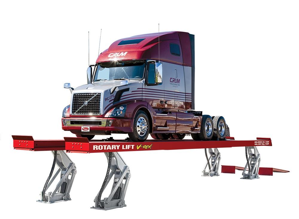 Platform Lift Designed for Big Trucks