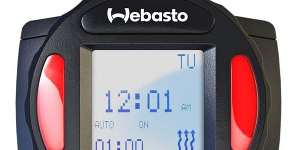 Webasto Releases New SmarTemp Control fx Timer
