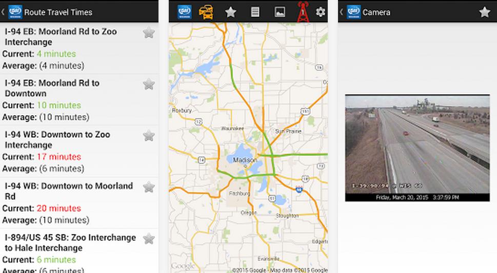 Wisconsin Releases 511 Travel Information App