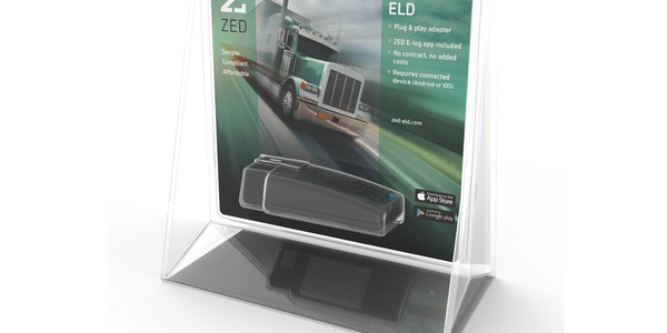 Zed Connect Offers OBDII Bluetooth ELD Adapter