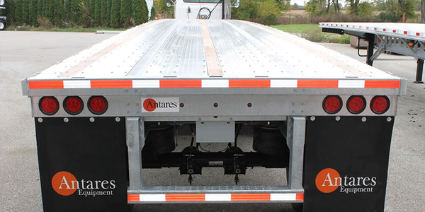 Lightweight Antares Flatbed is Easy to Fix