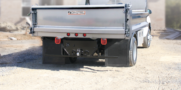 Crysteel Aluminum Dump Body Saves Weight