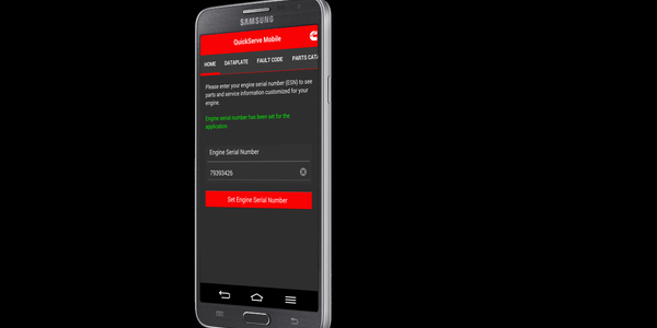 Cummins QuickServe Online App Available for Android