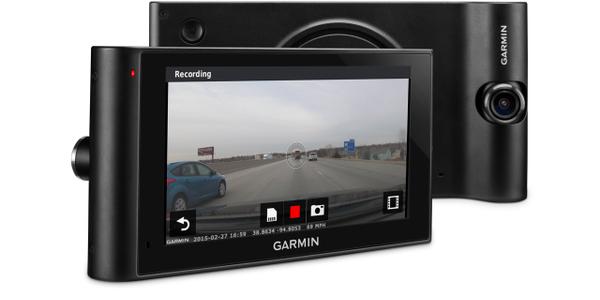 Garmin Navigator Has Built-In Dash Cam