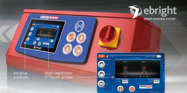 Stertil-Koni Touch Screen Control System for Diamondlift