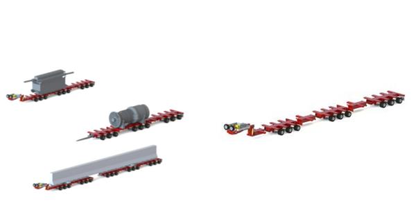 Modular Trailer Molds to Job Size