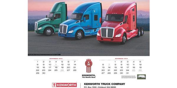 Kenworth Introduces World's Best Trucks 2015 Calendar