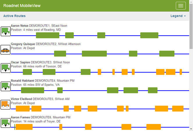 Roadnet Updates Transportation Suite