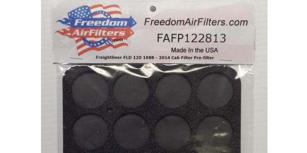 Freedom Pre-filters Keep Out Debris