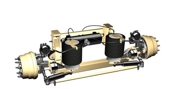 Ridewell Announces New Lightweight Trailer Suspensions