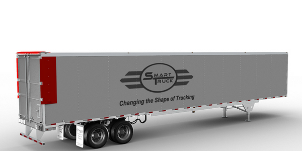 "SmartTruck TopKit Offers 'Near-invisible"" Aero Improvement for Trailers"