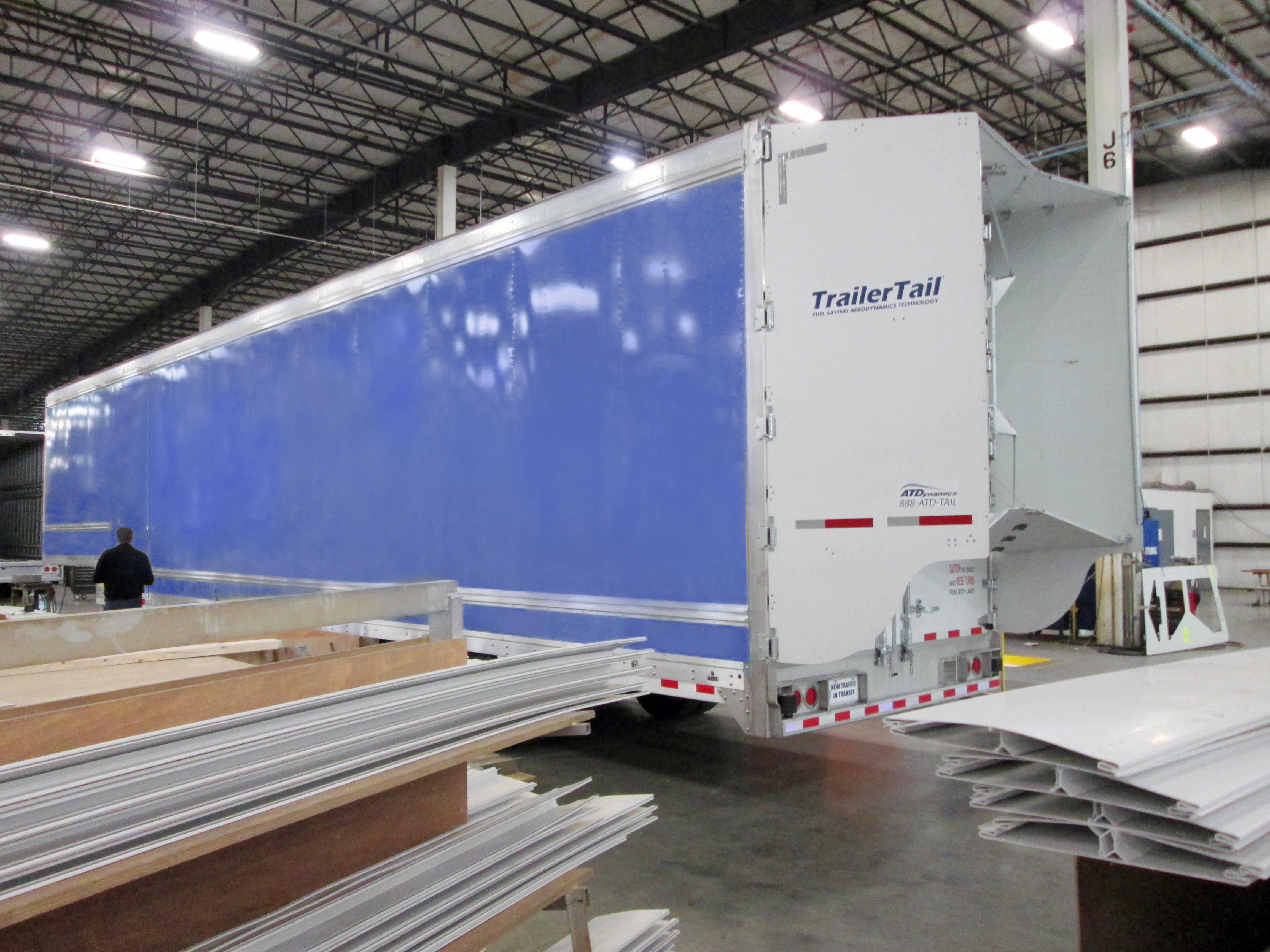 Kentucky Trailer to Offer Trailer Tail DropFrame Aero Fairings
