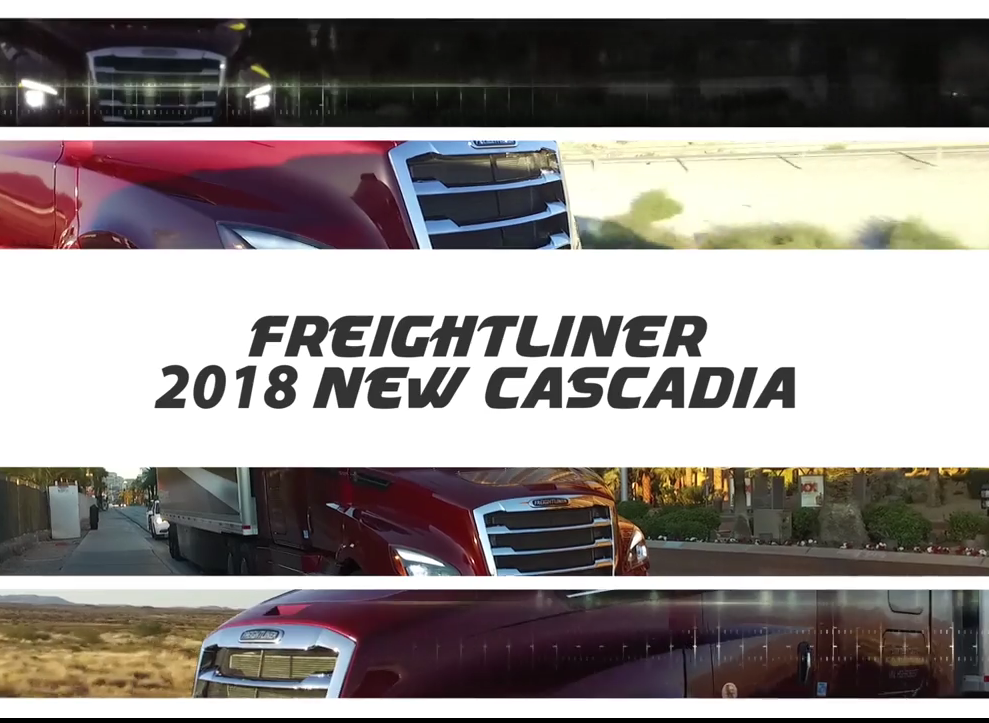 Test Drive Preview: Freightliner's 2018 Cascadia [Video]